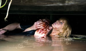 Michael Fassbender and Kelly Reilly in Eden Lake.