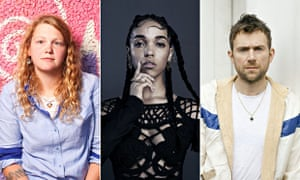 Mercury prize nominees ... Kate Tempest, Young Fathers and FKA twigs