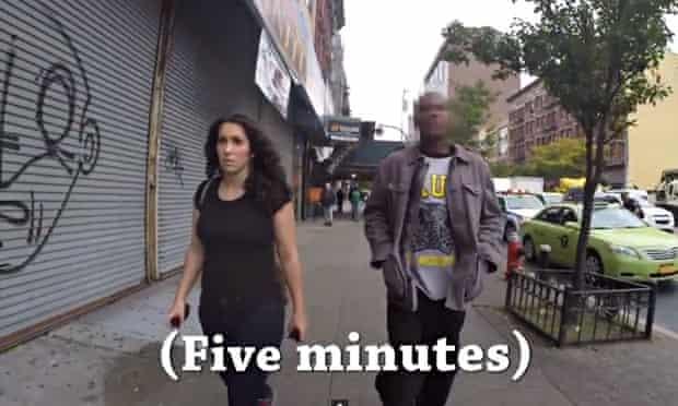 Shoshana B Roberts records 10 hours of harassment walking through New York