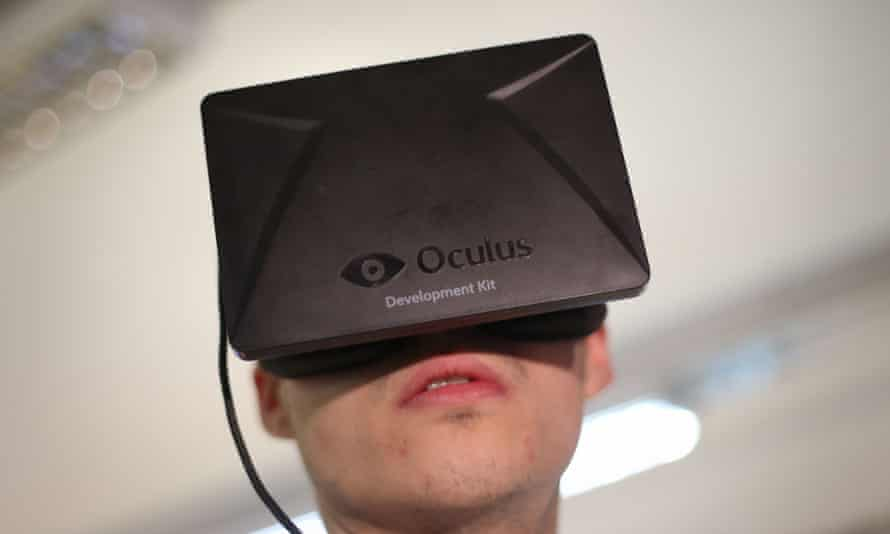 Facebook's chief executive is aiming high for sales of the Oculus Rift headset.