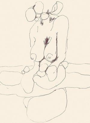 Alina Szapochnikow, Bust-Length Figure of a Woman, Headless 2, c 1971