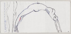 Louise Bourgeois Arch of Hysteria 1992.
