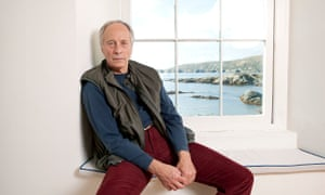 Writer Richard Ford at his holiday home in Ireland