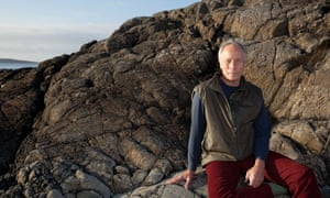 Richard Ford at his holiday home in Clifden, Ireland