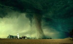 Farm tornado