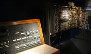 An early computer model designed by Alan Turing