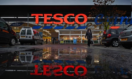 A Tesco supermarket in Glasgow
