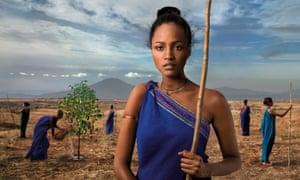 Ethiopian coffee growers.