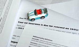 Car insurance renewal notice