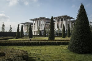 "The move to the new palace is a vivid symbol of what Erdogan touts as his drive towards a ""new Turkey""."