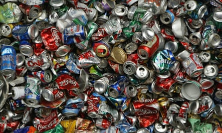environment trash recycle aluminum cans