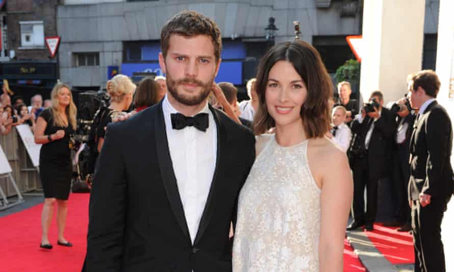 Family man: with his wife Amelia Warner.