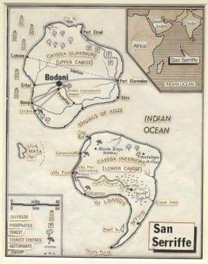 1977: April fool! Visit Sans Seriffe - map