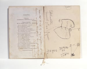 Shackleton's sketch of Antarctica