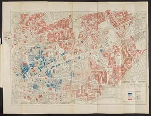 1901 map of Jewish East London