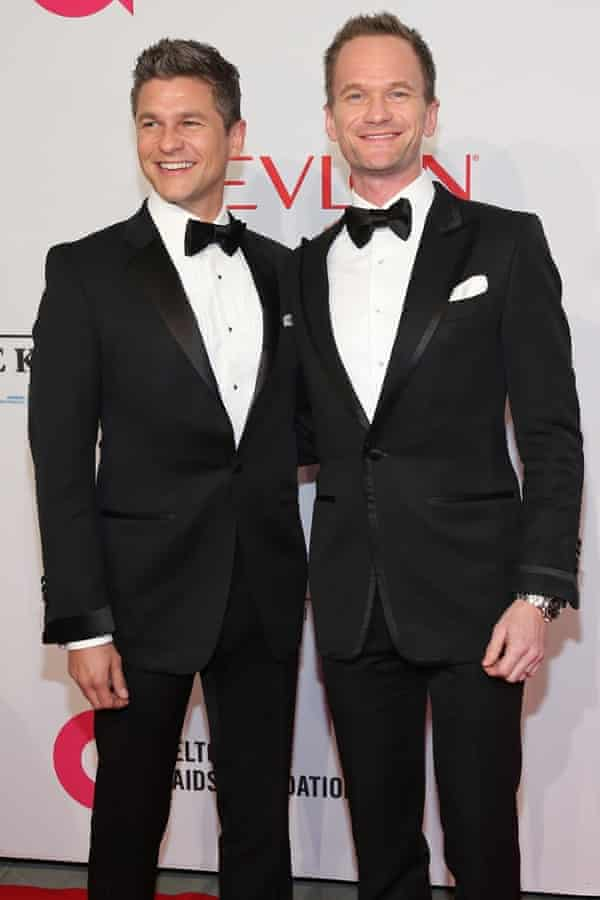 David Burtka and Neil Patrick Harris were among the guests at the benefit concert.