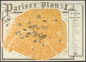 1940 map: Occupied Paris
