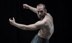 Hannes Langolf of DV8 Physical Theatre in John