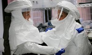 Ebola treatment teams