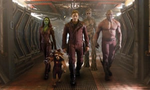 Guardians of the Galaxy … wisecracking