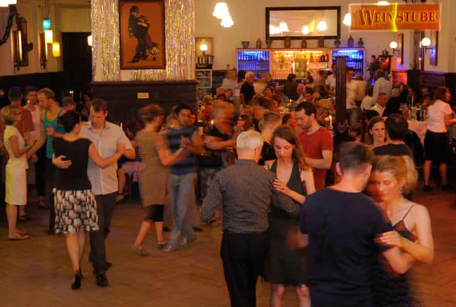 It takes two … tango dancing at Clärchens Ballhaus