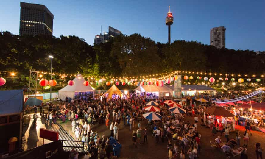 Sydney Festival Village, Hyde Park (Photo by Jamie Willams/Sydney Festival)Sydney Festival 2014