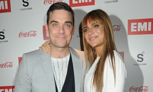 Robbie Williams and his wife, Ayda Field