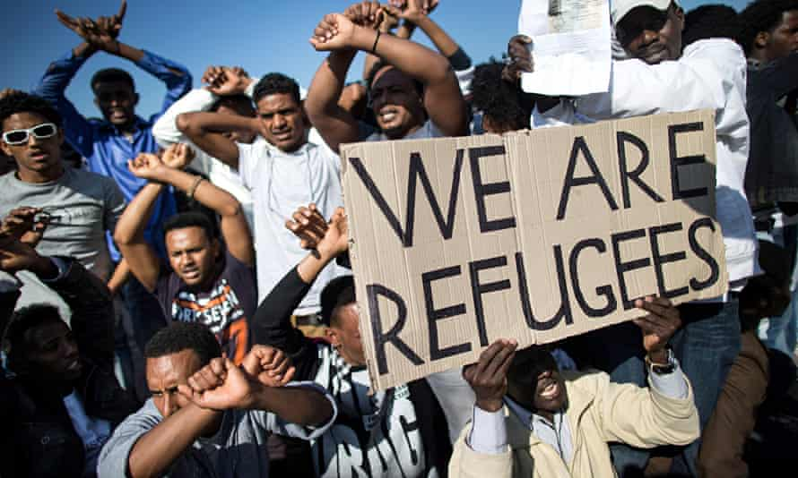 'It is becoming acceptable to speak of migrants not as human but as a kind of infection.'