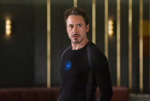 Robert Downey Jr as Tony Stark/Iron Man in The Avengers - 2012