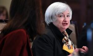 Janet Yellen, Fed chief.