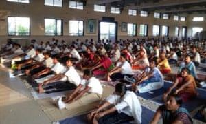 india police yoga