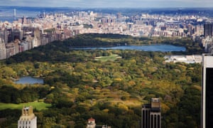 New York's Central Park receives around 25 million visitors each year.