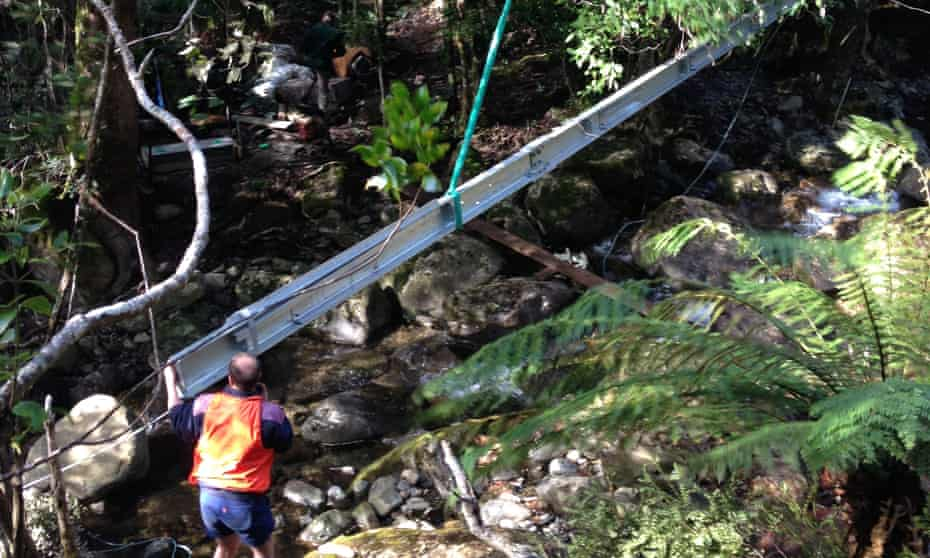 lowering the bridge spans onto the Higgs Track