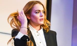 Lindsay Lohan as Karen in Speed-The-Plow.