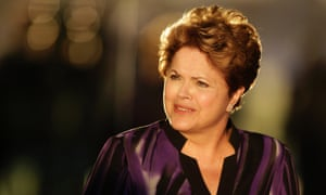 Polls show that Brazil's President Dilma Rousseff is likely to win a second term. (AP Photo/Eraldo Peres)