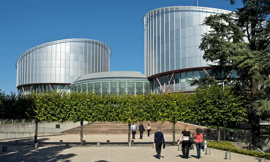 The European court of human rights in Strasbourg