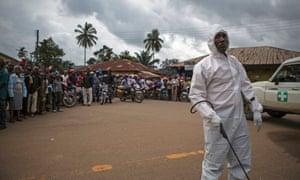 Ebola, Kenema Sierra Leone