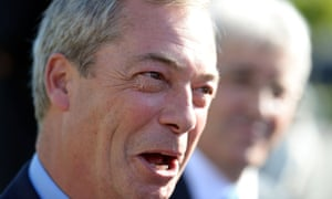 Ukip  party leader Nigel Farage: 'We need a much more muscular defence of our Judeo-Christian herita