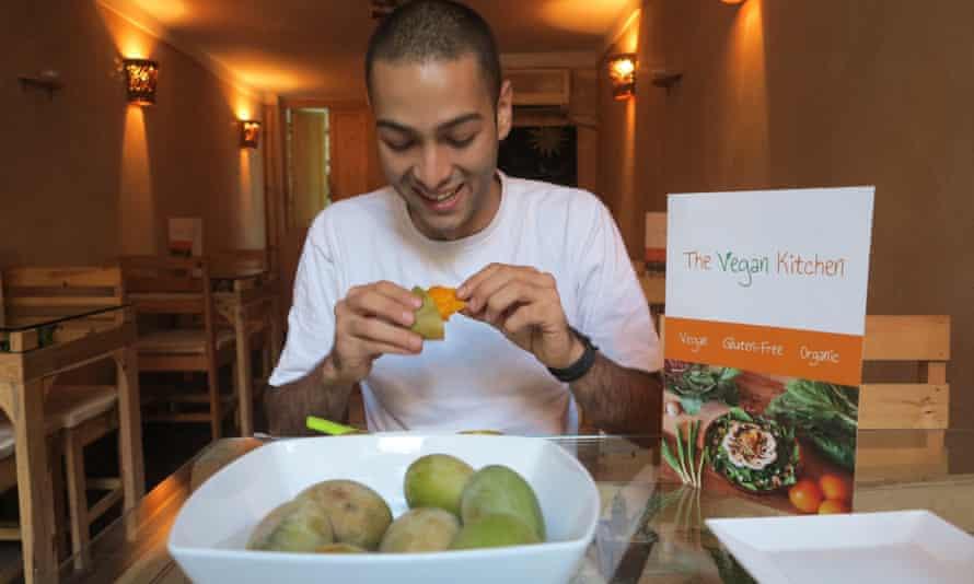 Alaa Sharshar of the Vegan Kitchen.