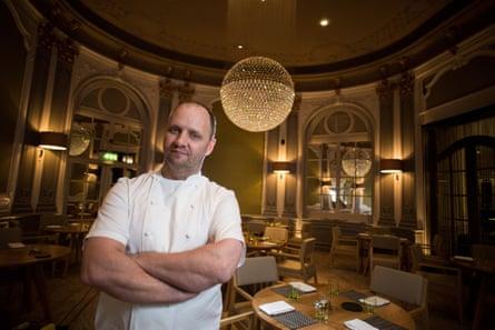 Chef Simon Rogan runs The French restaurant at The Midland Hotel.