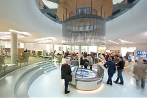 The revamped Manchester Central Library in St Peter's Square reopened this year.