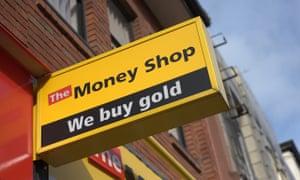 Money Shop payday lenders