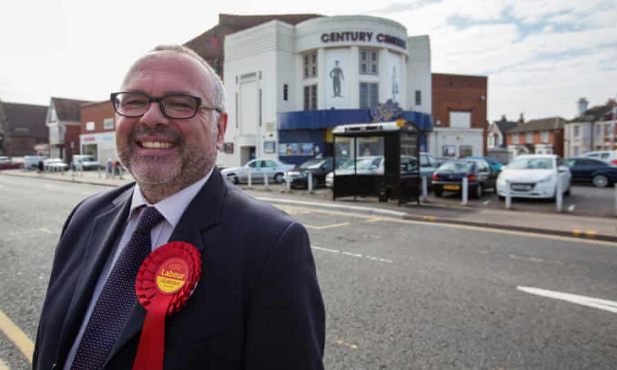 Labour's Clacton candidate Tim Young