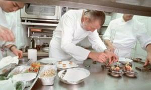 Pierre Gagnaire's eponymous restaurant in Paris has three Michelin stars.