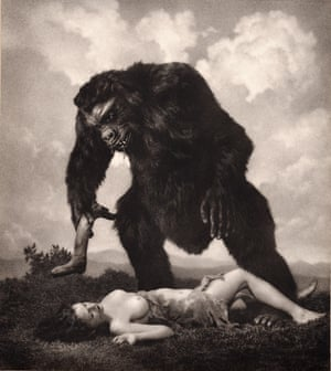 Image from American Grotesque William Mortensen, American pictorialist photographer
