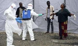 ebola disinfecting monrovia
