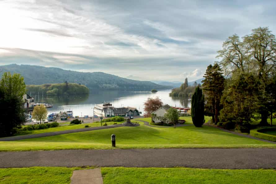 View of Windermere from the hotel