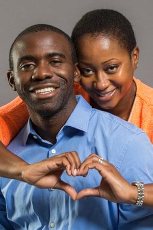 Fabrice and Shauna Muamba
