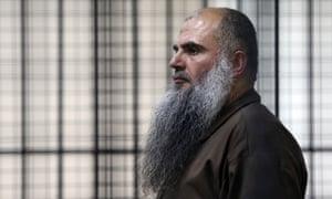 The radical Muslim cleric Abu Qatada, whose deportation was blocked by the ECHR until Jordan agreed