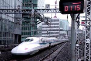 Tokyo Shinkansen.